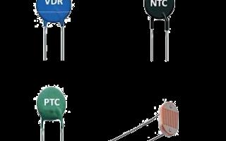 NTC, PTC, LDR, VDR
