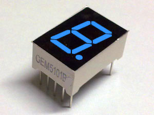 LED's 7 Segment Displays