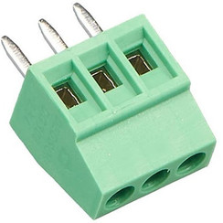 PCB Screw Connector 3 Pin 2.54