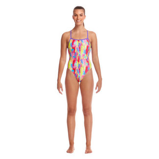 Funkita Strapped In One Piece - Splat Stat