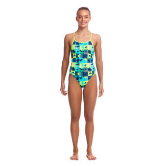 Funkita Diamond Back One Piece - Pop Tropo