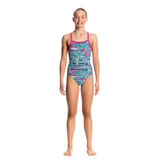 Funkita Strapped In One Piece - Minty Madness - 140