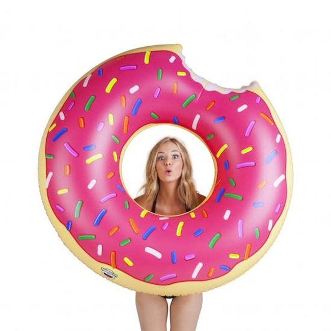 Big Mouth Giant Frosted Pink Donut
