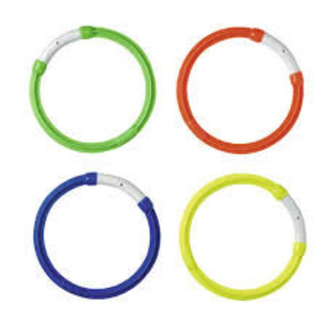 Beco Duikringen: 1 set = 4 kleuren