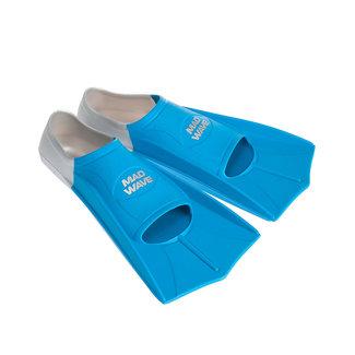 Mad Wave Fins Training - Blauw