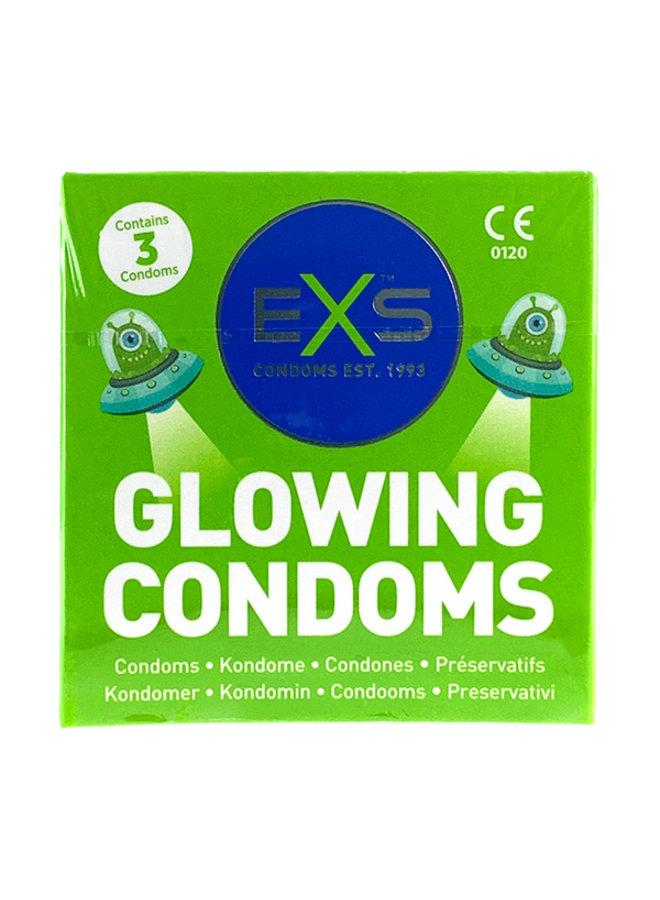 EXS Glow In The Dark Condooms