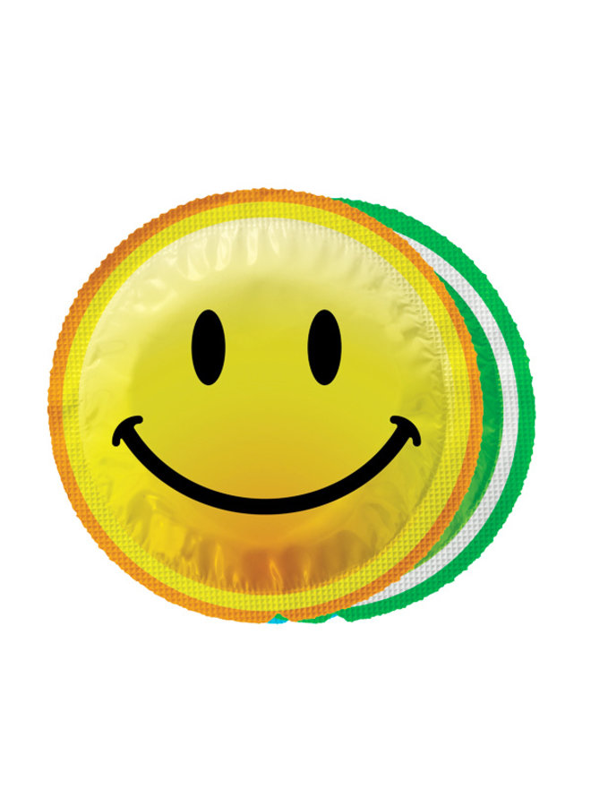 EXS Smiley Face Condoms