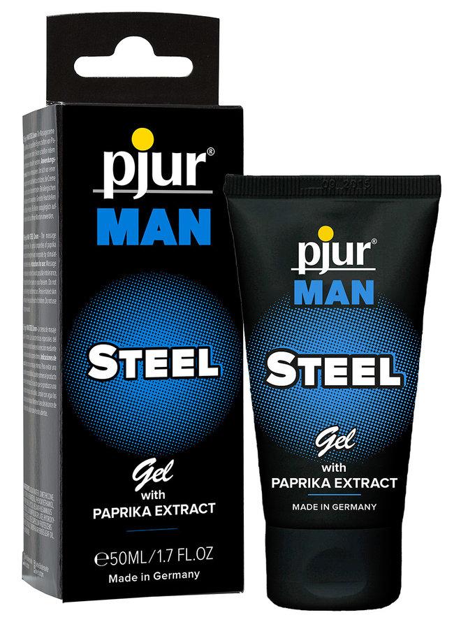 pjur MAN STEEL Penis Cream With Paprika and Menthol