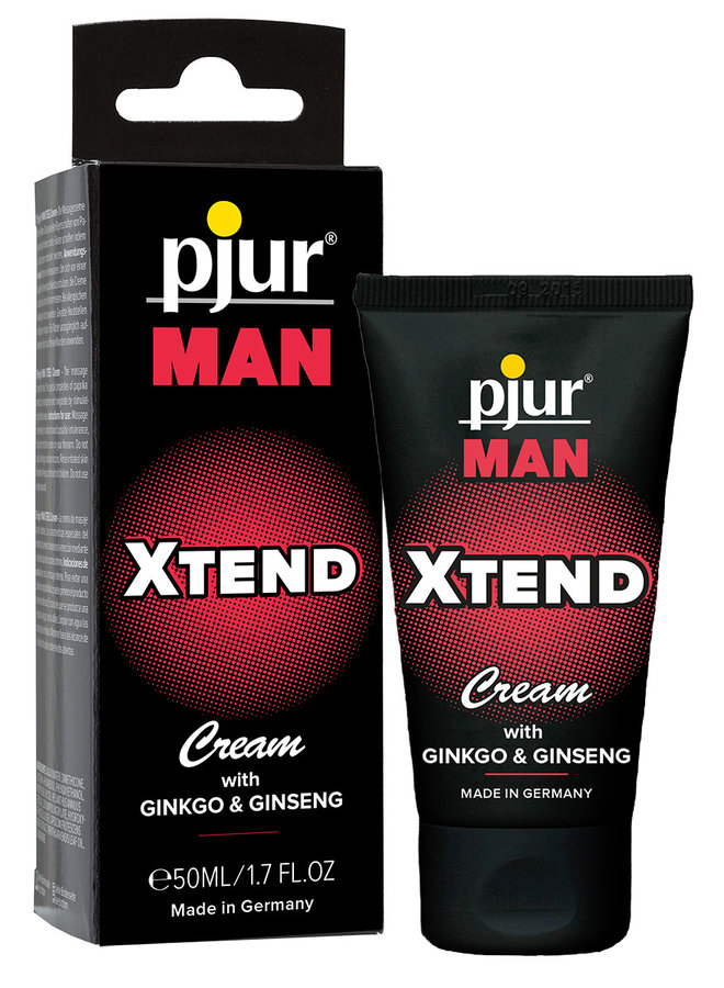 pjur MAN XTEND Cream Stimulating Penis Cream