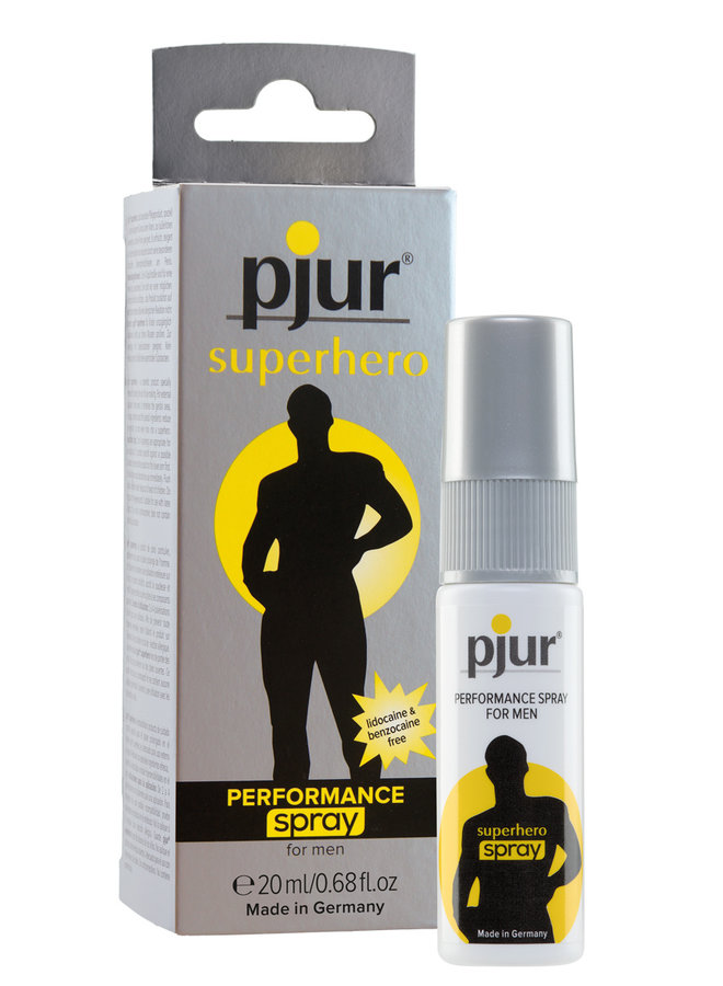 pjur Superhero Vertragende Spray