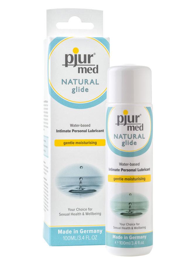 pjur med NATURAL Lubrifiant Eau pour peau sensible