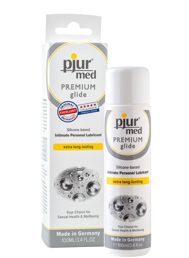 pjur med PREMIUM Silicone Lubricant For Sensitive Skin