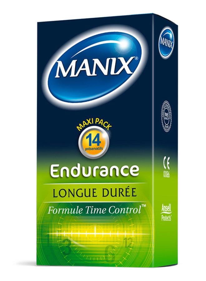 Manix Endurance Préservatifs Retardants