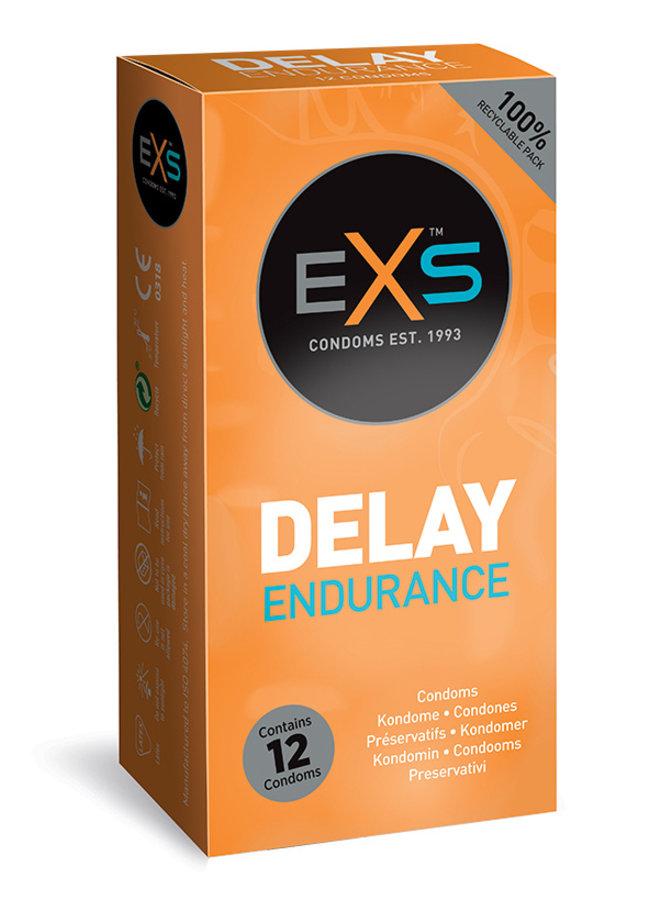 Préservatifs Retardants EXS Delay Endurance