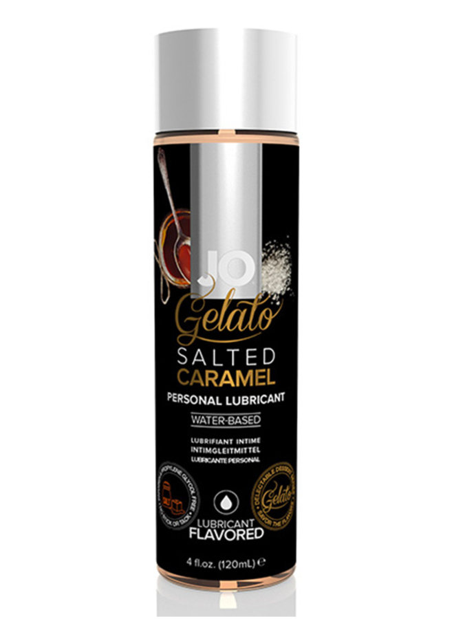 Gelato Salted Caramel Flavoured Lubricant