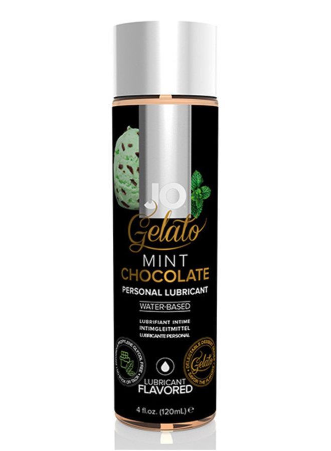 JO Gelato Glijmiddel met Chocolade Munt Smaak