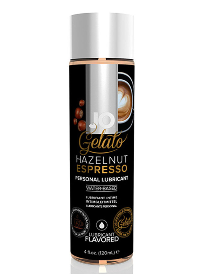 Gelato Hazelnut Espresso Flavoured Lubricant