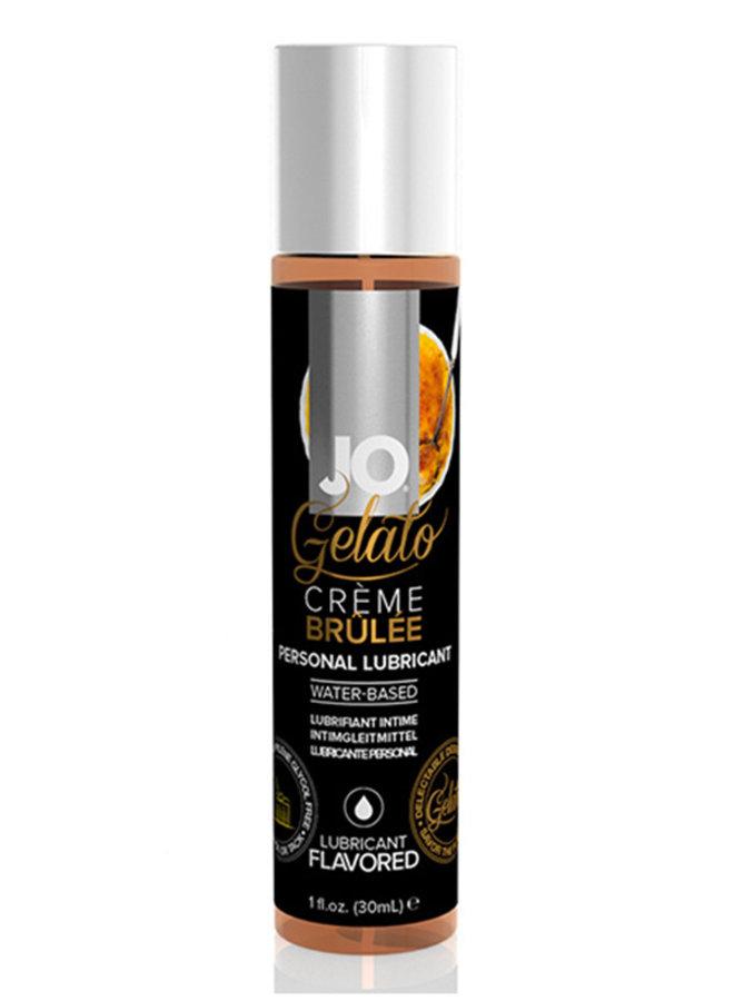 JO Gelato Glijmiddel met Crème Brûlée Smaak
