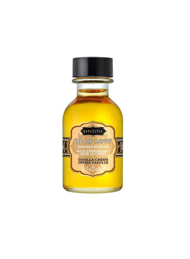 Kama Sutra Oil of Love Huile à Lécher Crème Vanille