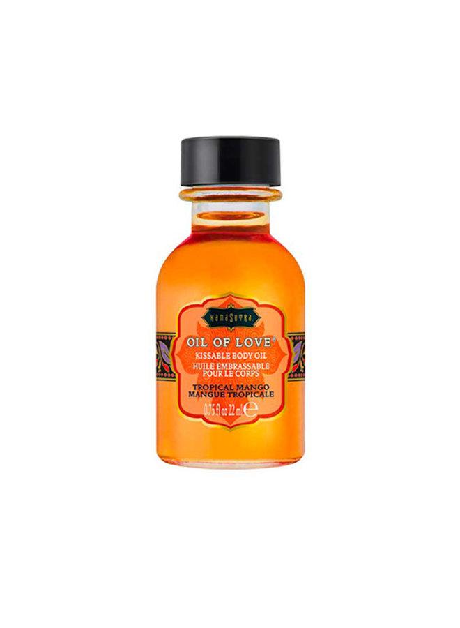 Kama Sutra Oil of Love Likbare Olie Tropische Mango