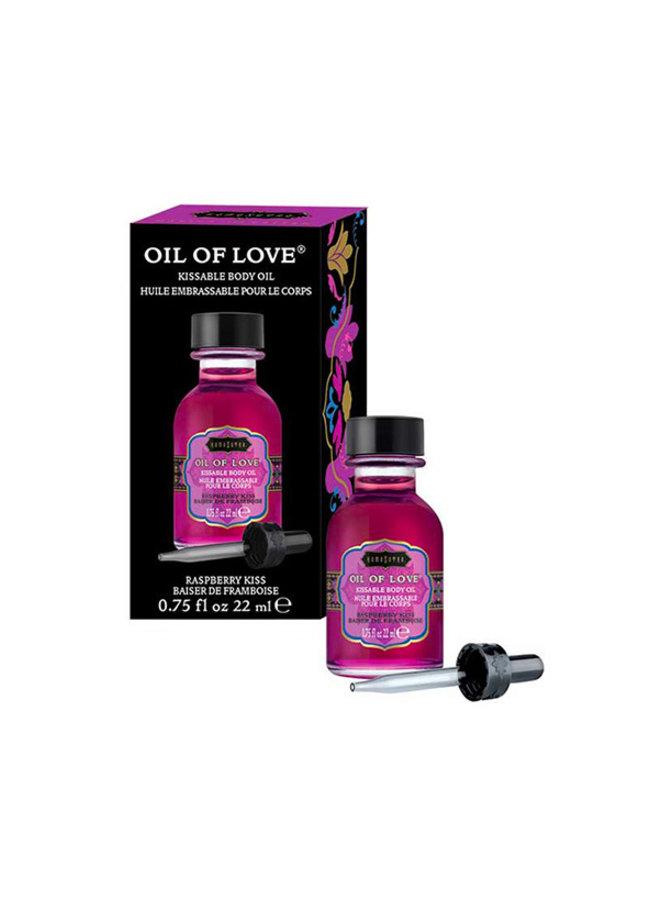 Kama Sutra Oil of Love Likbare Olie Framboos