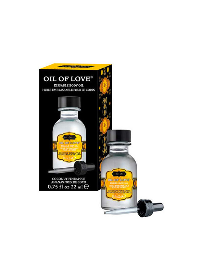 Kama Sutra Oil of Love Huile à Lécher Ananas Noix de Coco