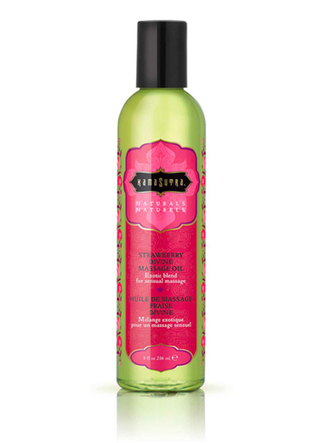 Kama Sutra Strawberry Divine Massage Oil