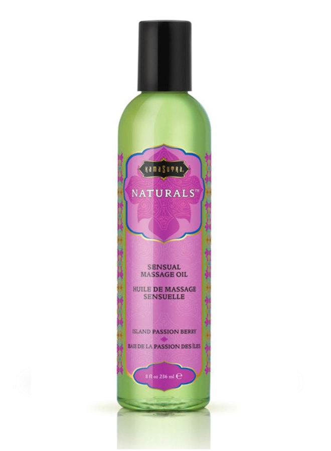 Naturals Massage Oil Island Passion Berry
