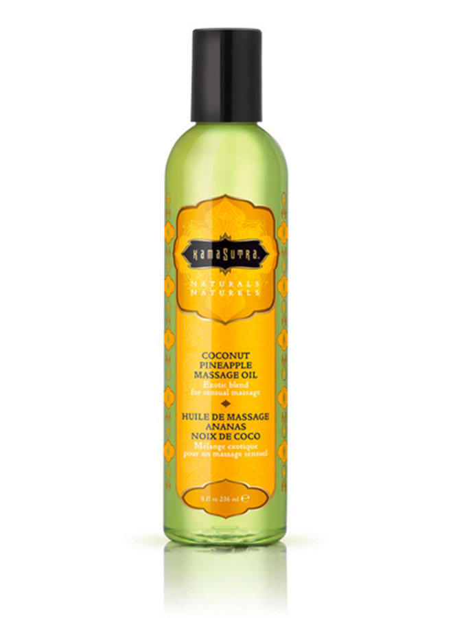 Naturals Massage Oil Coconut Pineapple