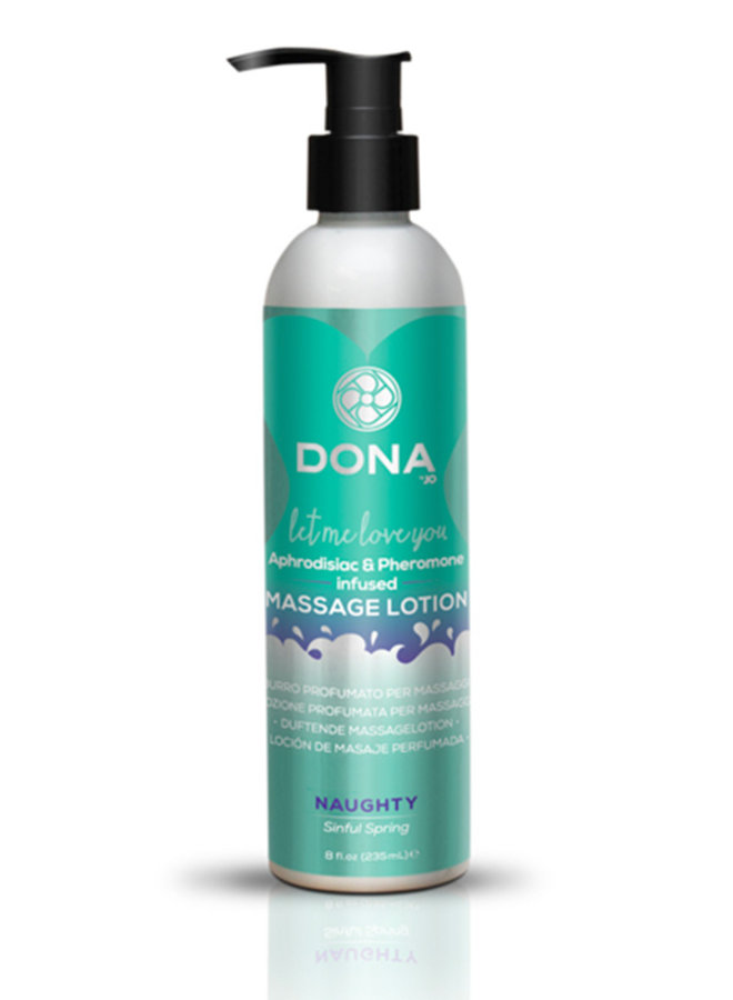 Scented Massage Lotion Sinful Spring