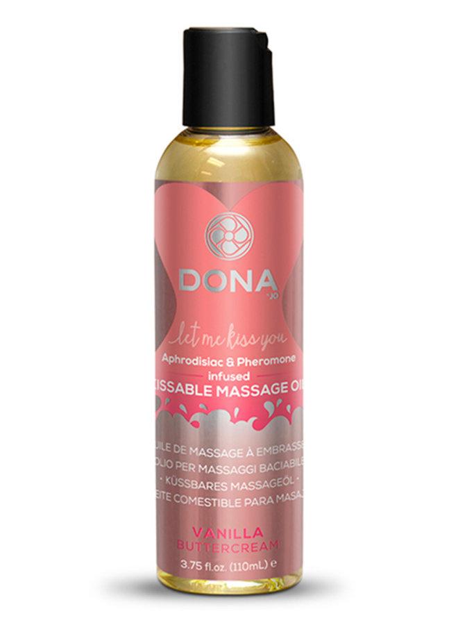 Dona Kissable Massage Oil Vanilla Buttercream