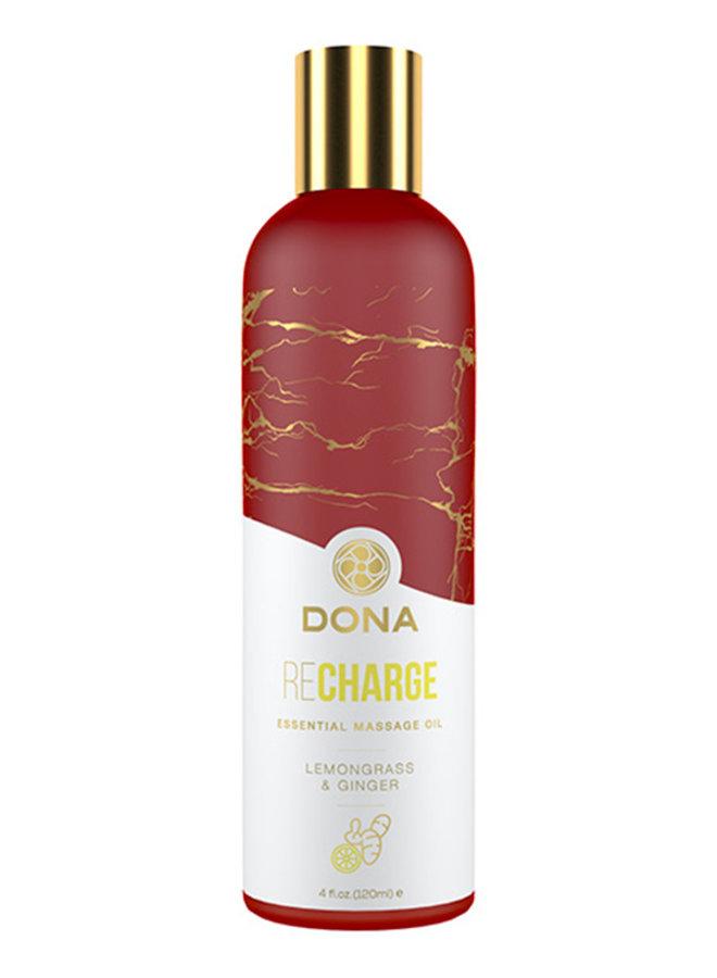 Essential Massage Oil Lemongrass & Ginger