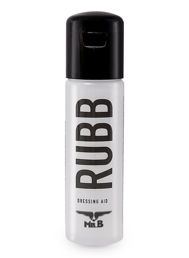 Mister B Rubb Latex and Rubber Dressing Aid