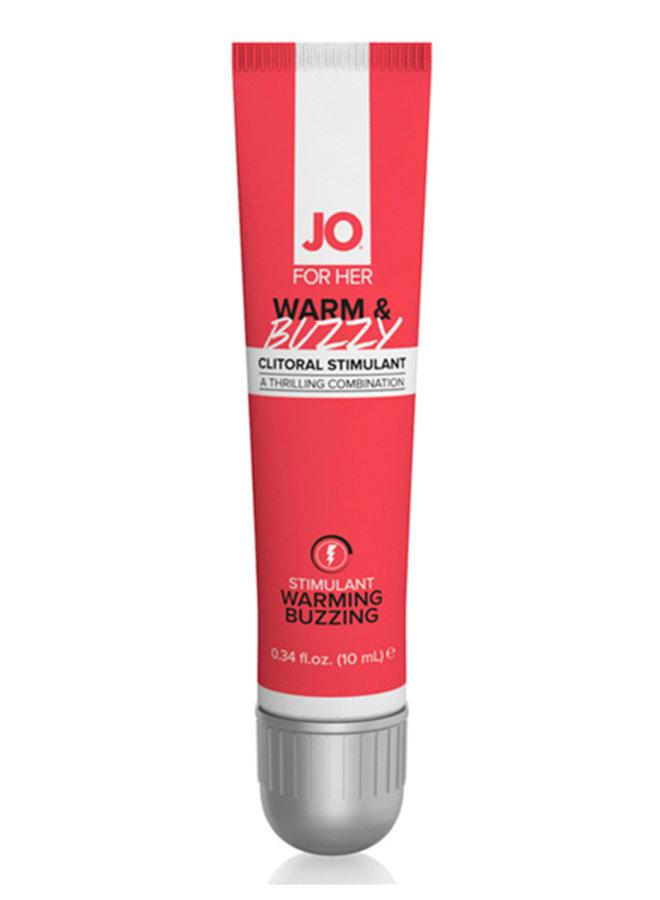 JO Warm & Buzzy Warming Clitoral Stimulant