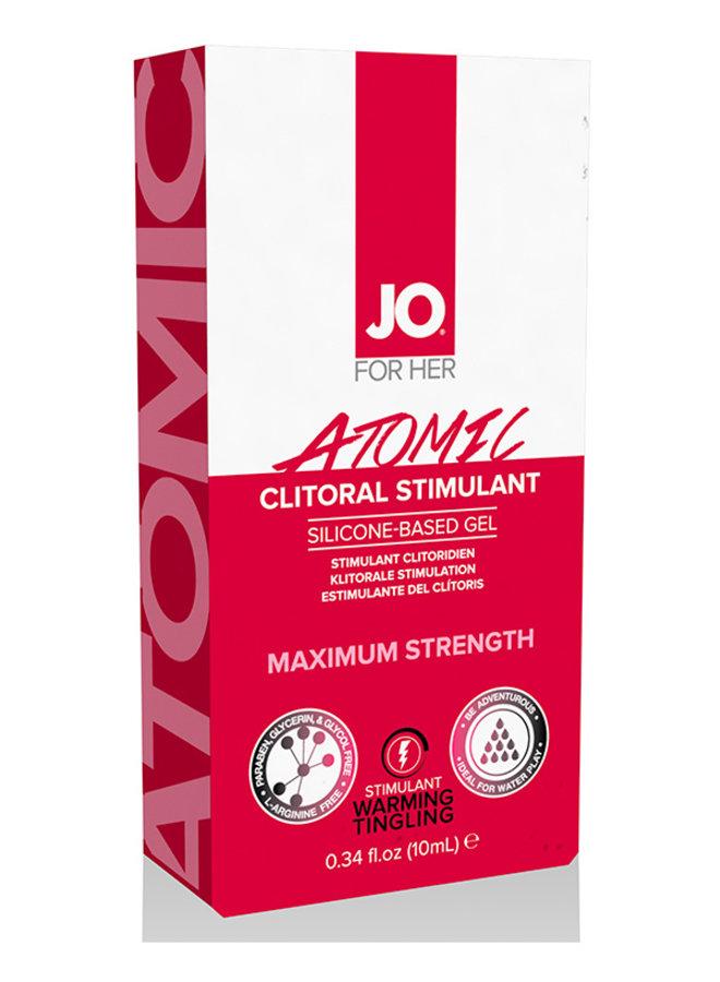 JO Atomic Gel Stimulant Clitoridien Chauffant