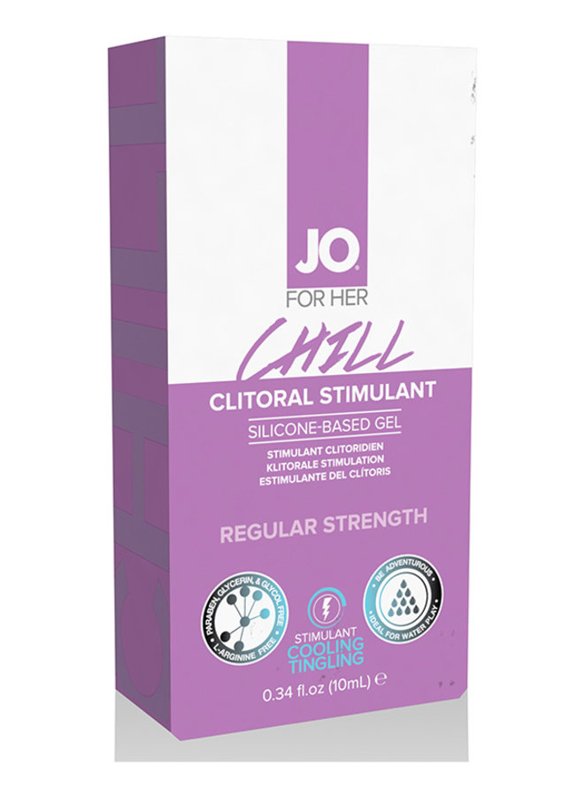 JO Chill Gel Stimulant Clitoridien Rafraîchissant
