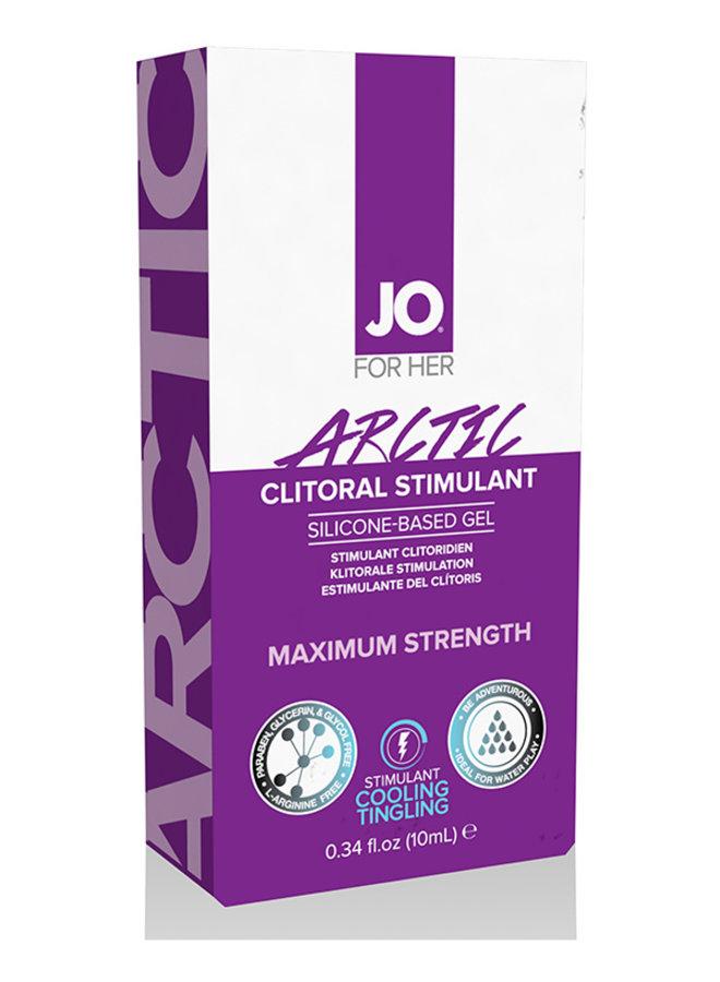 JO Arctic Gel Stimulant Clitoridien Rafraîchissant