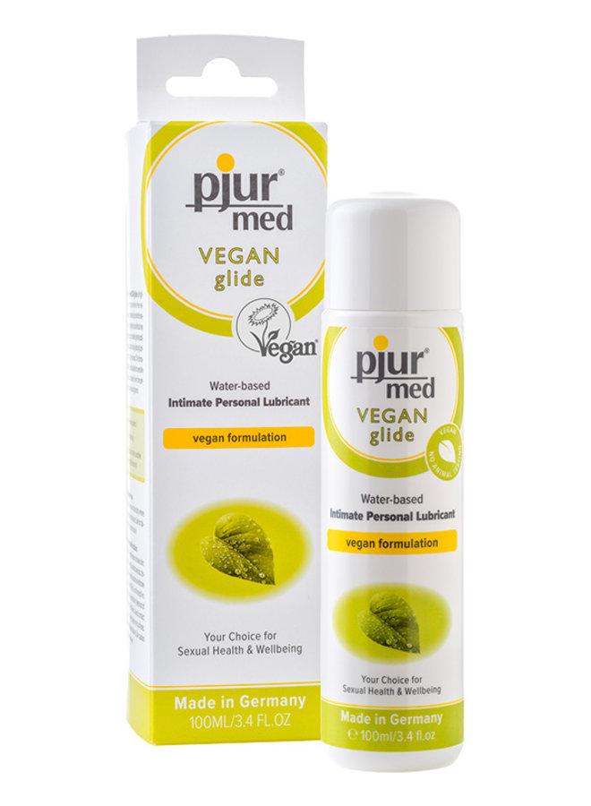 pjur med VEGAN Lubrifiant à base d'eau pour peau sensible