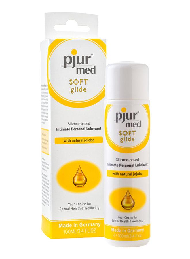 pjur med Soft Glide Silicone Lubricant Sensitive Skin