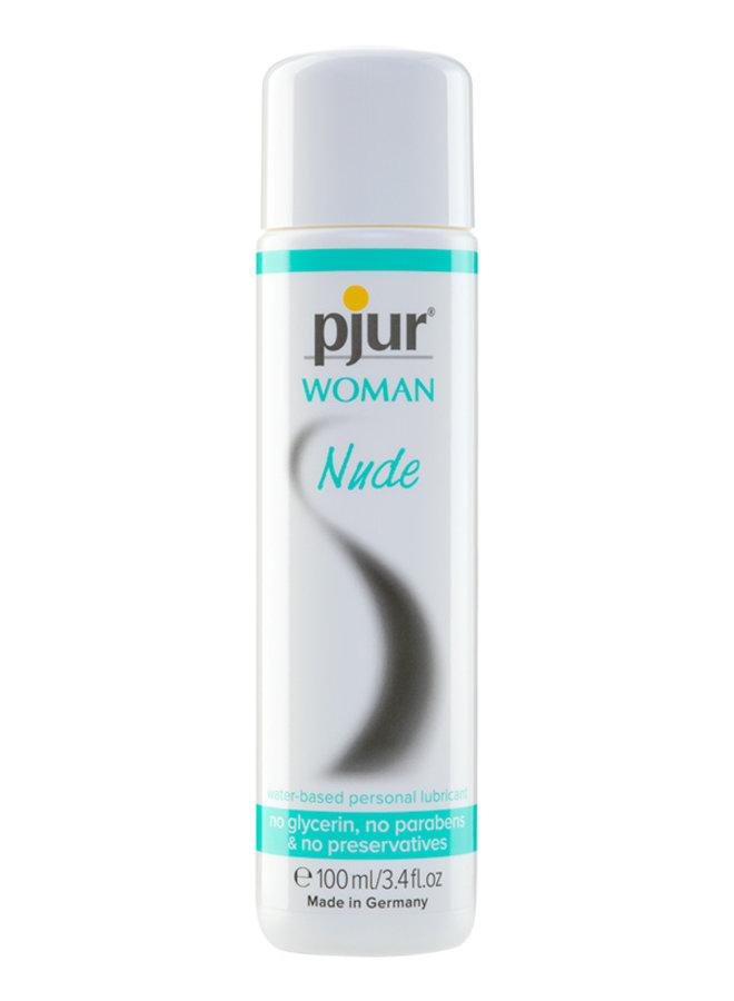 Woman Nude Glijmiddel Gevoelige Huid