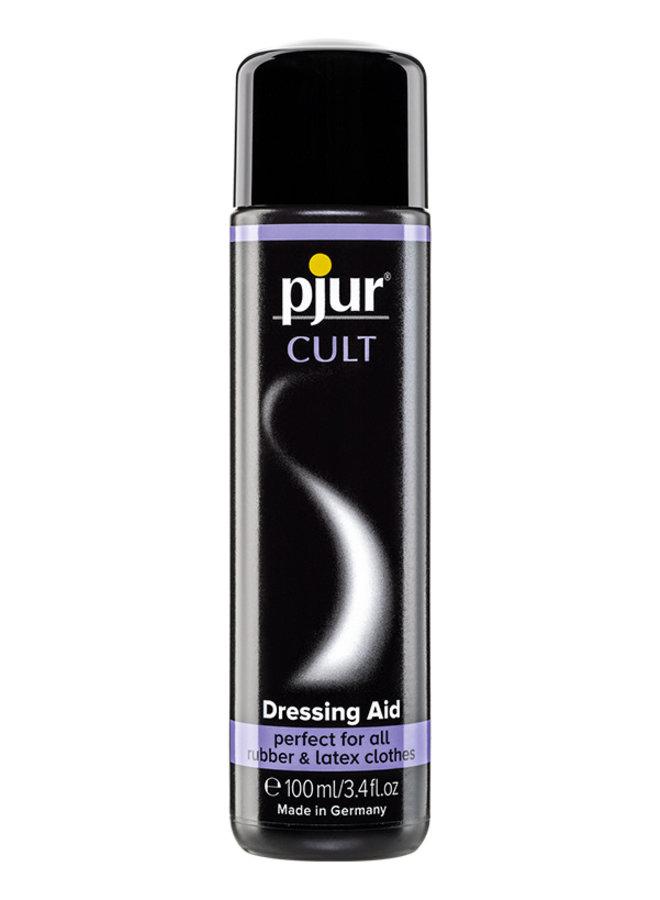 pjur CULT Aide à l'Habillage pour Latex et Caoutchouc