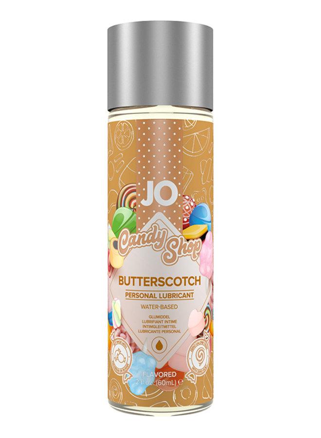 JO Candy Shop Glijmiddel met Toffee Smaak
