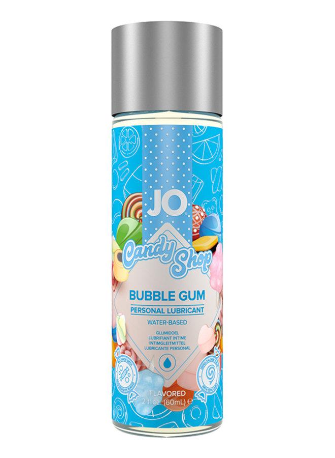 JO Candy Shop Lubrifiant Parfumé Goût Bubble Gum