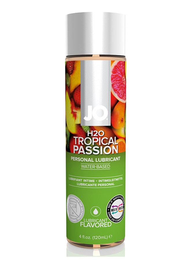 JO H2O Tropical Passion Lubrifiant Goût Fruits Exotiques
