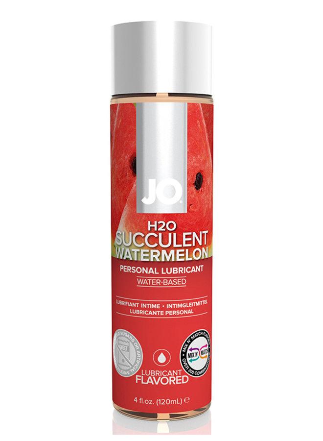 JO H2O Succulent Watermelon Glijmiddel Watermeloen Smaak