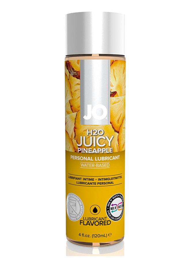 JO H2O Juicy Pineapple Lubrifiant Parfumé Goût Ananas
