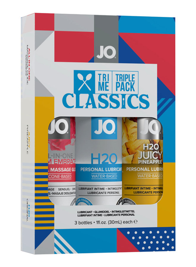 JO Coffret Lubrifiants Tri-Me Classics