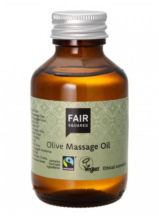 Huile de Massage à l'Huile d'Olive Fair Squared