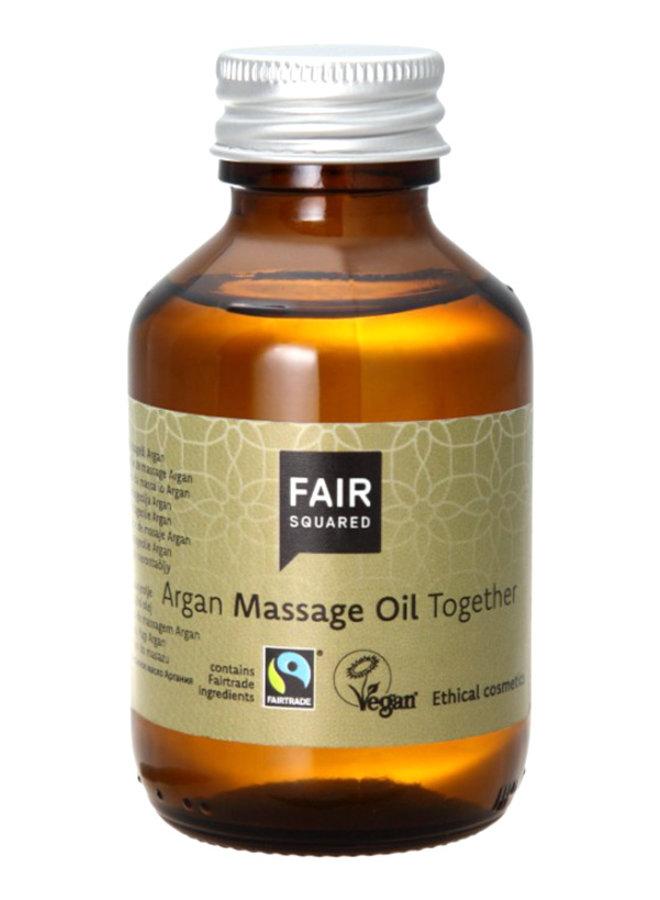 Fair Squared Together Argan Massage Oil