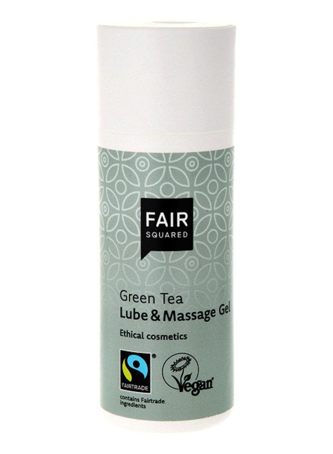 Fair Squared Gel Lubrifiant et pour Massage au Thé Vert
